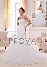 magasin de robe de mariã e lyon robe de mariée sirène en dentelle avec dos mi nu et évasée sur le