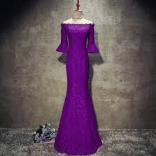 gowns for weddings purple lace mermaid of the dresses for weddings