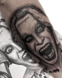 jared leto joker squad tattoo inkstylemag