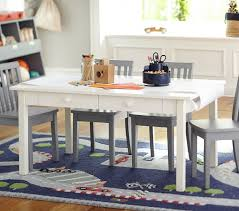 carolina craft table u0026 4 chairs set pottery barn kids