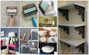 diy home decor on a budget low budget diy home decoration projects