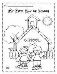 preschool coloring pages school back to school coloring page freebie teacherspayteachers com