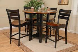 Round Counter Height Table With Leaf Starrkingschool - Counter height dining table drop leaf