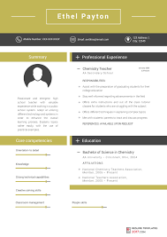 teachers resume template resume templates for teachers are the skillful way to achieve