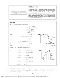 solution manual for vector mechanics for engineers dynamics 10th