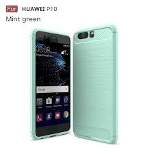 shtl carbon tpu armor for huawei p10 mint green huawei p10