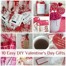 valentines presents 10 easy diy s day gifts