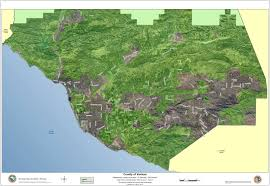 Ojai California Map Ojai Soar