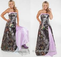 2017 light purple camo wedding dresses strapless satin floor