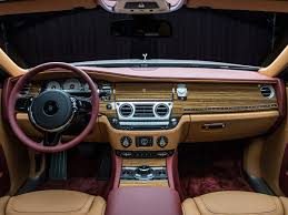 rolls royce ghost interior 2015 one off rolls royce ghost red diamond edition for saudi arabia u0027s