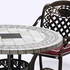 Copper Patio Table Shop For Outdoor Patio Furniture Antique Copper Cast Aluminum