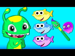 baby shark nursery rhyme lyrics baby shark gets into cave funny story finger family kids rhymes