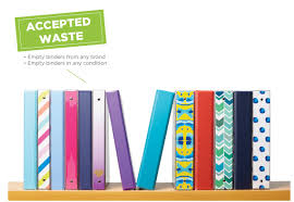 Office Depot by Binder Recycling Program Terracycle
