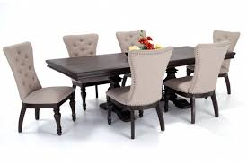 bobs furniture kitchen table set riverdale 7 dining set with upholstered chairs bob s
