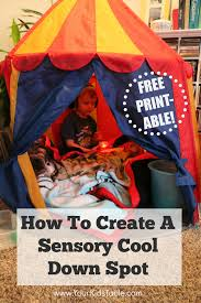 Sensory Seat Cushion How To Create A Quick And Easy Sensory Tent Your Kid U0027s Table