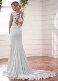 mermaid wedding dresses buy discount glamorous tulle acetate satin scoop neckline