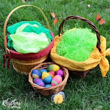 Easter Baskets Delivered Eco Friendly Easter Basket Tips And Ideas Rhythms Of Play