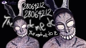 frank halloween mask donnie darko frank the bunny makeup tutorial by eyedolizemakeup