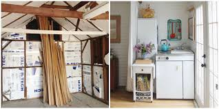 Pop Up Tiny House by This Couple Turned Their Grandma U0027s Garage Into The Cutest Tiny House