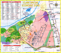 clark map philippines clark air base maps charts and blueprints