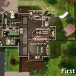 Mansion Floor Plans Sims 3 Mansion Floor Plans Sims Building Plans Online 59313