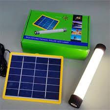 solar powered tube lights 1pcs portable solar powered dimmable led tube lights rechargeable