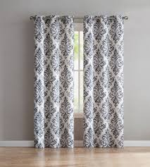 Demask Curtains Vcny Home Jade Embroidered Damask Curtains Set Of 4