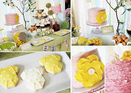 yellow baby shower ideas baby shower ideas yellow and white pink and yellow baby shower