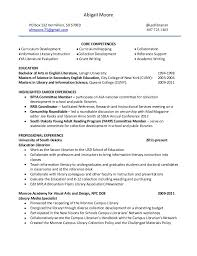 sle academic librarian resume resume for a librarian in an