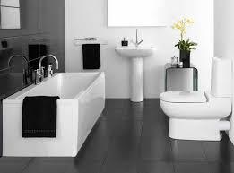 black and white tile bathroom ideas bathroom design contemporary bathroom in black and white ideas