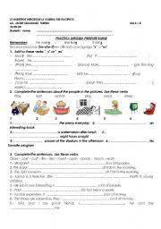 13 best staj images on pinterest grammar worksheets present