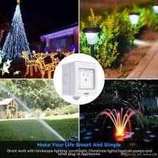 outdoor sockets for christmas lights 2018 2018 sale smart wifi switch ip55 waterproof outdoor plug