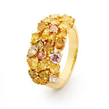 coloured diamonds rings images Fleur de la couleur matthewely by york jewellers jpg