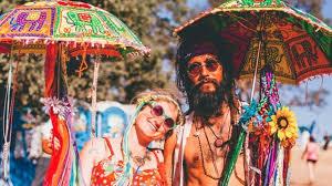 foto hippie figli dei fiori cinque per un abbigliamento da figli dei fiori cinque