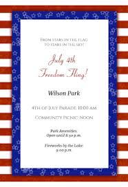 patriotic free printable 4th of july invitation template