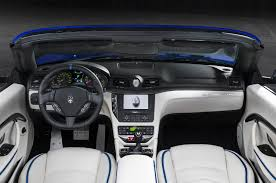 2013 maserati granturismo interior 2014 maserati granturismo convertible information and photos