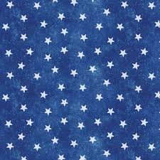 Blue Flag With Stars Patriotic