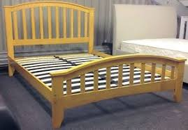 4ft Wooden Bed Frame Maple 4ft Small Wooden Bed Frame Solid Wood 2 Free