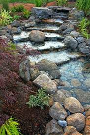 rock garden water feature garden ideas rhino rock rock garden