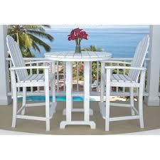 polywood adirondack balcony set furniture for patio