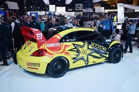 volkswagen race car volkswagen to go rallycross racing with 560 hp plus beetle grc