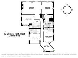 15 Central Park West Floor Plans by 50 Central Park West Upper West Side Stribling U0026 Associates