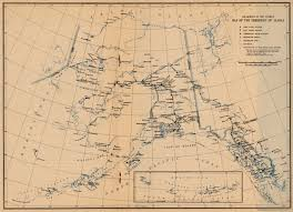 Nome Alaska Map by Ak Historical County Lines
