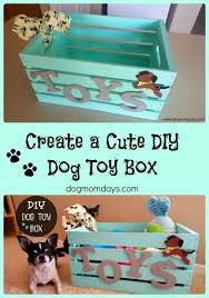 Make Your Own Dog Toy Box by 152 Best Dog Diy Projects Images On Pinterest Diy Dog Dog Treat