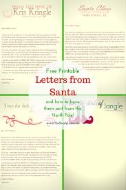 father christmas letter templates free 25 best letter from santa ideas on pinterest letter explaining free printable letters from santa his elves