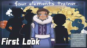 Princess Trainer Game - first look four elements trainer alpha version part 1 youtube