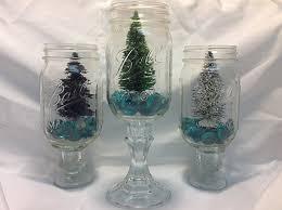 Diy Mason Jar Christmas Decorations by Christmas Tree In A Jar Mason Jar Diy Craft Idea