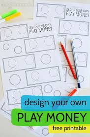 create your own playmoney with microsoft word free printable