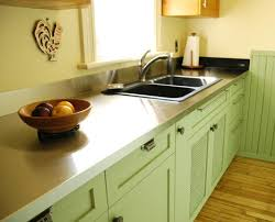 stainless steel countertop with sink stainless steel countertop by ridalco traditional kitchen