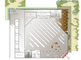 best of store floor plan architecture nice